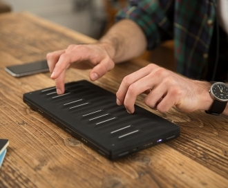 Multi-touch goes mainstream. ROLI launches Seaboard Block at £279.95.
