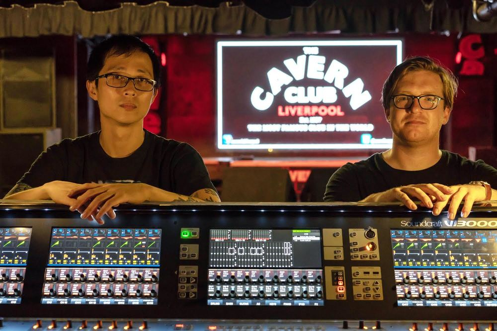 Liverpool's famous Cavern Club has moved into the digital age with Soundcraft Vi3000 and Si Performer 2