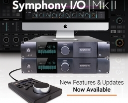 Apogee Announces Availability of New Features for Symphony I/O Mk II Audio…