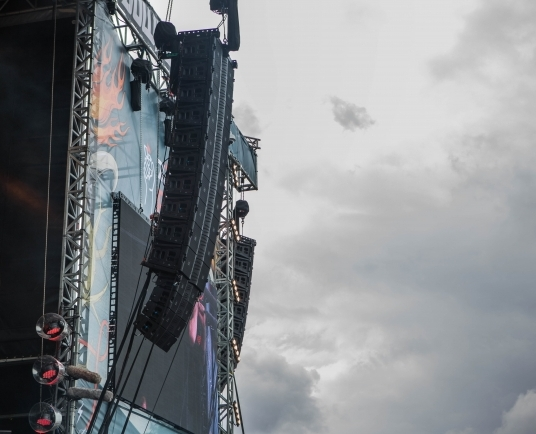 In Photos: JBL VTX system deployment at Download 2016