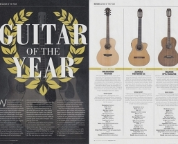 Washburn Woodline WLO20S included in Acoustic magazine's 'Guitar of the…