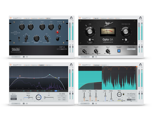 Apogee FX Rack Native plugins now available free to Ensemble, Element, Duet, Quartet and Symphony Mk II customers for a limited time