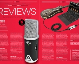 Songwriting magazine recommends Apogee JAM and MiC