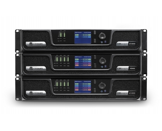 HARMAN expands Crown CDi DriveCore Series amplifier range