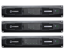 HARMAN Professional Solutions Expands Dante-Enabled Crown DriveCore Install DA Series