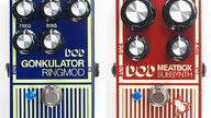 DOD Gonkulator Ring Modulator and Meatbox Sub Synth pedal reissues now available