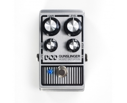 DOD Gunslinger MOSFET Distortion pedal now available