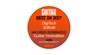 Three DigiTech pedals nominated in Total Guitar 'Best in Guitars' 2017 poll