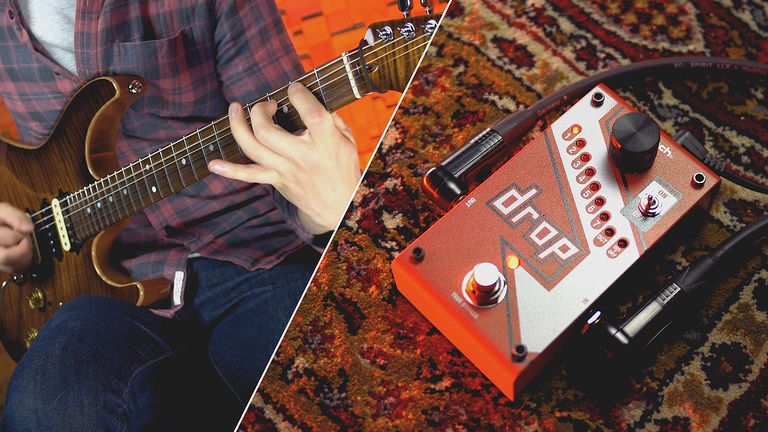 Shifting guitar tunings & travelling light with the DigiTech Drop