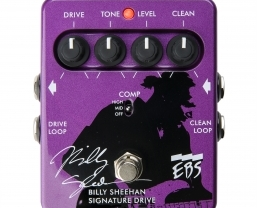 EBS release Billy Sheehan's video guide to his signature drive pedal