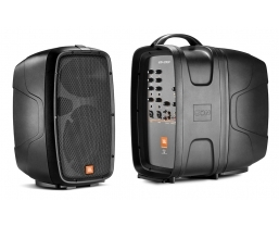 JBL EON206P portable PA system featured in Q magazine