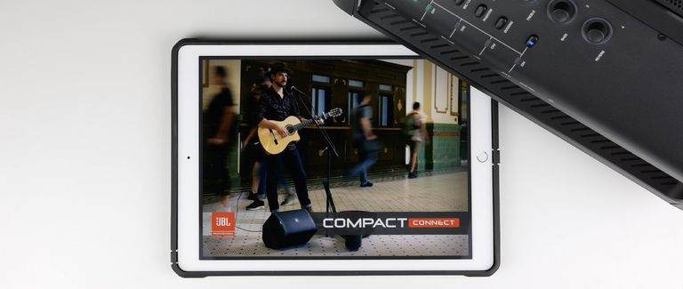 Using the JBL EON ONE Compact Connect App