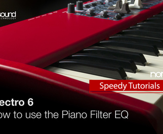 Nord Speedy Tutorial: Using the Piano Filter EQ on the Nord Electro 6