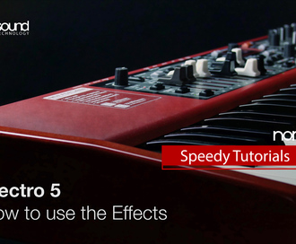 Nord Speedy Tutorial : How to use Effects on the Electro 5