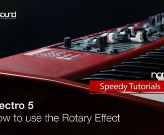 Nord Speedy Tutorial: How to use the Rotary simulation on an Electro 5
