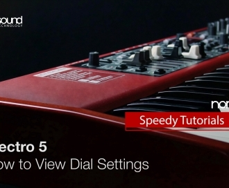 Nord Speedy Tutorial: How to view Dial value settings on the Nord Electro 5