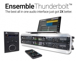 Apogee Electronics announces major software upgrade for Ensemble Thunderbolt audio interface