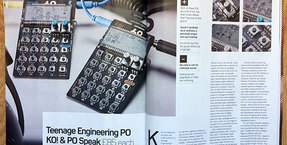 Inspirational Teenage Engineering KO! & speak Pocket Operators reviewed in Future Music