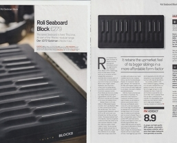 Future Music magazine call the ROLI Seaboard BLOCK a