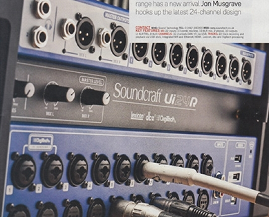 Future Music magazine review the new Soundcraft Ui24R | From