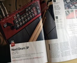 Nord Drum 3P receives Future Music 'Platinum Award'