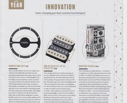 DigiTech FreqOut included in Guitarist magazine's 'Gear of the Year'