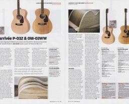Special edition Larrivée P-03Z & OM-03WW in award-winning Guitar & Bass magazine review