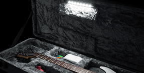 Gator 'LED Edition' guitar cases featuring interior light fixture now available