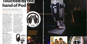AKG Podcaster Essentials bundle featured in latest Hi-Fi Choice