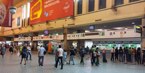HARMAN Professional's IDX Information System at Brazil's SuperVia Trens Urbanos Rail Stations.