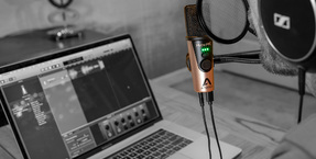Apogee HypeMiC USB microphone with studio analogue compression now available