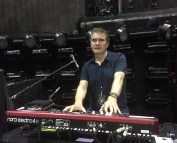 Trio of Nord Keyboards on Take That's 'III' world tour