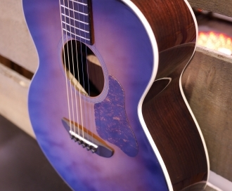 Six all-solid up-market models from Washburn