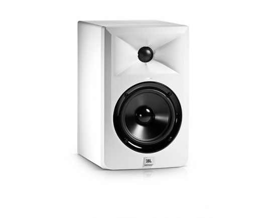 Special Edition White JBL LSR305 Studio Monitors now available