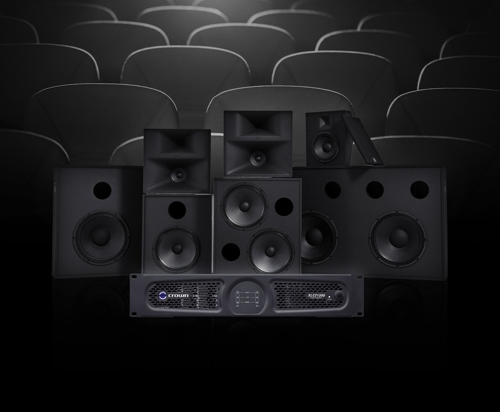 HARMAN debuts JBL Professional Cinema Expansion Series Line and Crown XLC21300 Cinema Amplifier