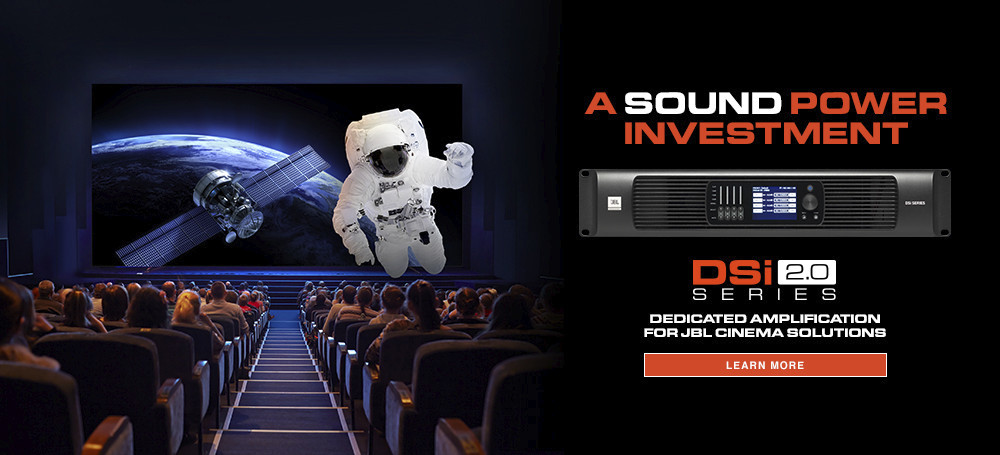 JBL Professional Announces New DSi 2.0 Series Cinema Amplifiers