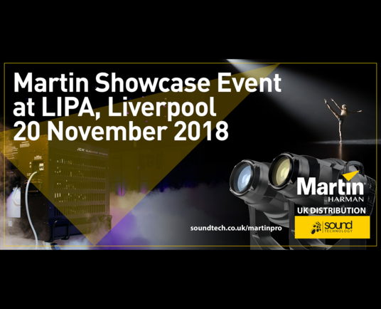 Martin Showcase Event at LIPA, Liverpool, 20 November