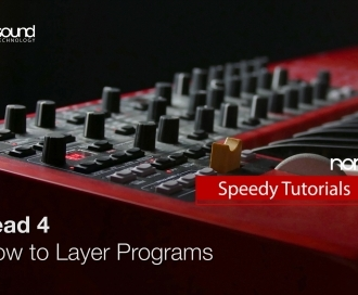 Nord Speedy Tutorial: How to Layer on a Nord Lead 4