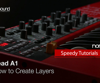 Nord Speedy Tutorial: How to Layer on a Nord Lead A1