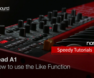 Nord Speedy Tutorial: How to use the Like Function on a Lead A1