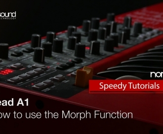 Nord Speedy Tutorial: Getting started with the Morph Function on a Nord Lead A1