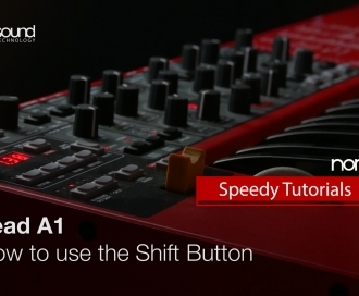 Nord Speedy Tutorial: How to use the Shift Button on a Nord Lead A1