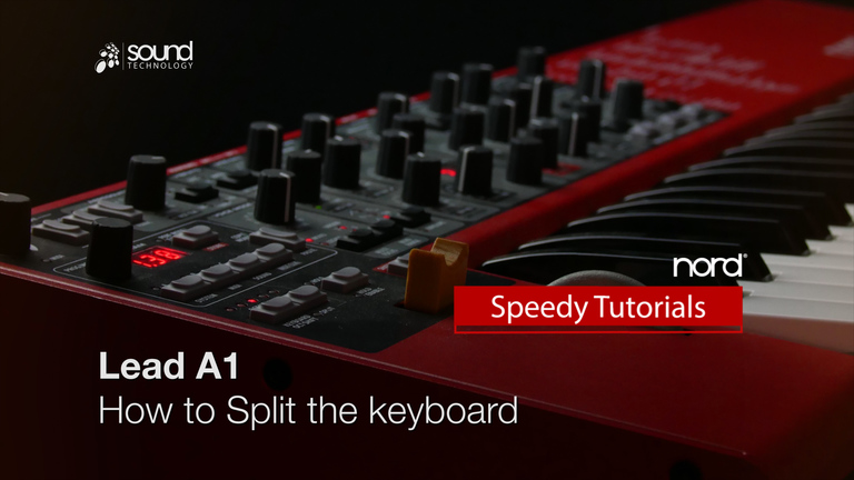 Nord Speedy Tutorial: How to Split on a Nord Lead A1