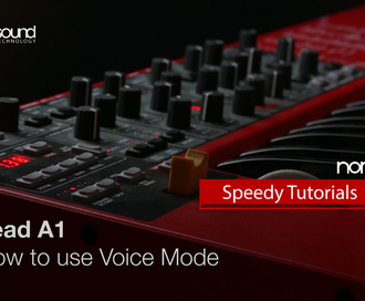 Nord Speedy Tutorial: How to use Voice Mode on a Lead A1