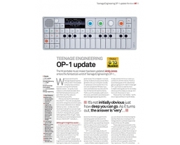 Teenage Engineering OP-1 receives MusicTech 'Choice' award