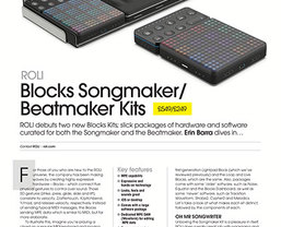 REVIEW: ROLI Songmaker & Beatmaker Kits receive MusicTech 'Choice' & 'Innovation' awards