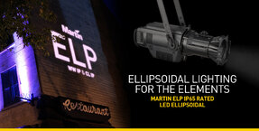Martin Professional Expands ELP LED Ellipsoidal Fixture Family With IP65 Variants