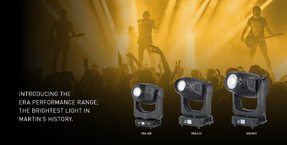 Martin announces new ERA 400, 600 and 800 Performance fixtures - the brightest light in Martin's history