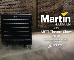 Martin Professional Lighting at the ABTT Theatre Show 2018