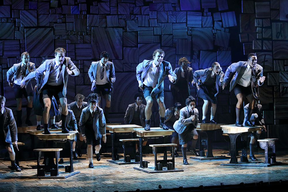 Martin MAC Encores make their mark on tour with Matilda The Musical